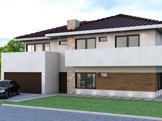 Diseño de Casa Moderna Chile Casas modernas de Gabriela Afonso Moderno