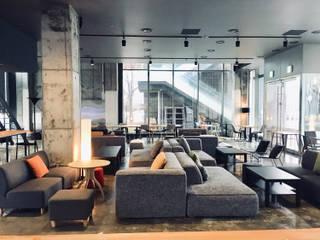 The november Lounge / 더노벰버 라운지 인천송도 커낼워크점 인더스트리얼 스타일 바 & 클럽 by The november design group _ 더 노벰버 인더스트리얼