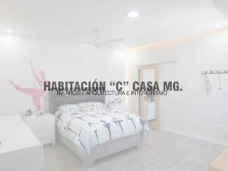 """Habitación """"C"""" Dormitorios modernos de ARQSU, Arquitectura e Interiorismo Moderno"""