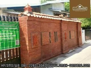 Bata Tempel - HP/WA: 08122833040 - Omah Genteng Dinding & Lantai Gaya Klasik Oleh Omah Genteng Klasik