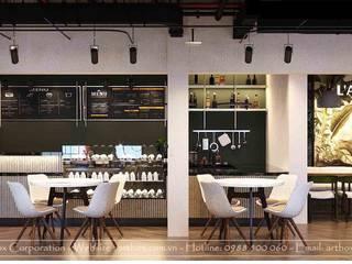 Thiết kế nội thất quán cafe Lamensa Thiết Kế Nội Thất - ARTBOX