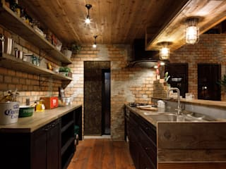 Rustic style kitchen by dwarf Rustic