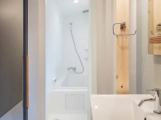 GELANDE 一級建築士事務所オブデザイン 洗面所&風呂&トイレシンク 白色