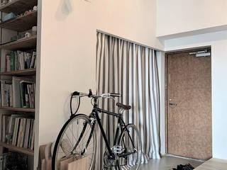 笹口SOHO 一級建築士事務所オブデザイン 玄関&廊下&階段収納