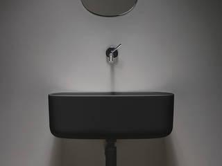 Bounce Collection: lavabo morbido in poliuretano EVER Life Design BagnoLavabi Nero