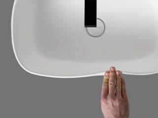 Bounce Collection: lavabo morbido in poliuretano EVER Life Design BagnoLavabi Bianco