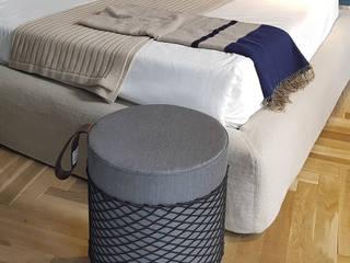 Roll Collection: il pouff leggero che sta anche sotto la doccia EVER Life Design Camera da lettoAccessori & Decorazioni