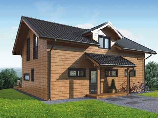 THULE Blockhaus GmbH - Ihr Fertigbausatz für ein Holzhaus Kabin Kayu Brown