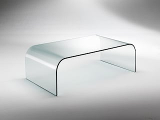 Glass tables for living rooms INFABBRICA Living roomSide tables & trays Kaca Transparent