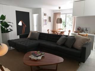 APARTAMENTO CENTRO DE LISBOA - DESIGN DE INTERIORES: Salas de estar  por SOI Home&Store Design,Moderno