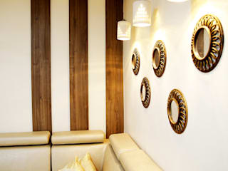 Interior Design of Mr.Kharpude's Residence Modern living room by Neha Dharkar Modern