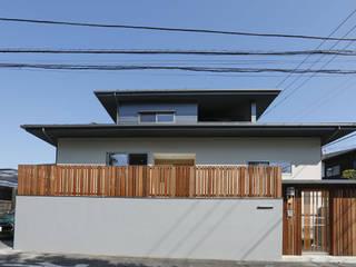 光風舎1級建築士事務所 Casa unifamiliare Legno