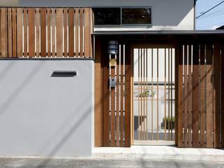 光風舎1級建築士事務所 Porte scorrevoli Legno