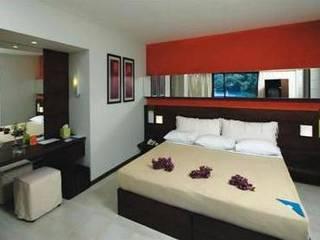 SERPİCİ's Mimarlık ve İç Mimarlık Architecture and INTERIOR DESIGN Hotel Modern Bambu Red