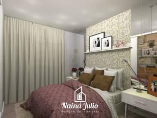DORMITÓRIO DE CASAL - CABECEIRAS por Nainá Julio - Designer de Interiores