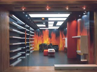 SERPİCİ's Mimarlık ve İç Mimarlık Architecture and INTERIOR DESIGN Kantor & Toko Modern Kayu Multicolored