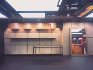 SERPİCİ's Mimarlık ve İç Mimarlık Architecture and INTERIOR DESIGN Kantor & Toko Modern Kayu White