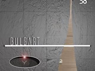 SERPİCİ's Mimarlık ve İç Mimarlık Architecture and INTERIOR DESIGN Negozi & Locali commerciali in stile minimalista PVC Grigio