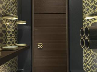 SERPİCİ's Mimarlık ve İç Mimarlık Architecture and INTERIOR DESIGN Kantor & Toko Minimalis Kayu Wood effect