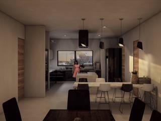 Casa en Santa Anita de Helicoide Estudio de Arquitectura Moderno