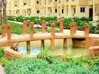 lablaya resort:  فنادق تنفيذ Green line for landscape egypt, حداثي