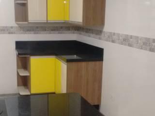 Marcenaria Sincero's Móveis KitchenCabinets & shelves MDF Yellow