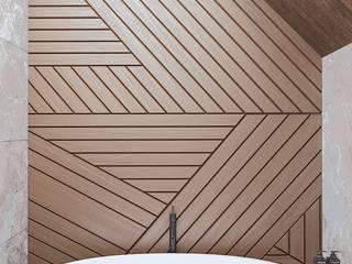 Ванная комната Ванная комната в эклектичном стиле от ULANOVA Эклектичный