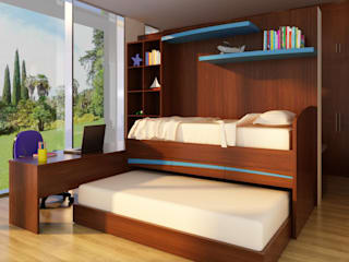 MADYS INTERIORES Modern style bedroom