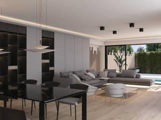 Moderne Esszimmer von Aguilar Arquitectos Modern