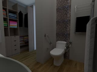 Baños de estilo moderno de OHANA STUDIO Moderno