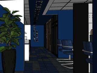 Oficinas de estilo moderno de OHANA STUDIO Moderno