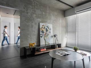 Salas / recibidores de estilo  por 質覺制作設計有限公司, Moderno