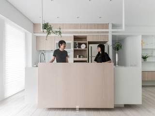 Cocinas de estilo  por 質覺制作設計有限公司, Minimalista