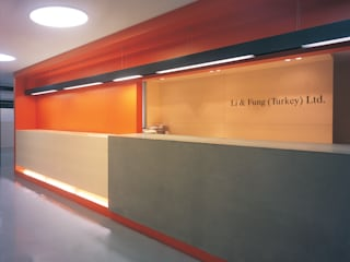 SERPİCİ's Mimarlık ve İç Mimarlık Architecture and INTERIOR DESIGN Negozi & Locali commerciali moderni PVC Variopinto