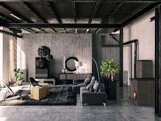 FUOX Living roomFireplaces & accessories