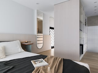 Modern style bedroom by 質覺制作設計有限公司 Modern
