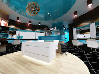 PROPOSED INTERIOR DESIGN FOR VALIOSA SALOON AT QUILL CITY MALL, KUALA LUMPUR by eL precio Modern
