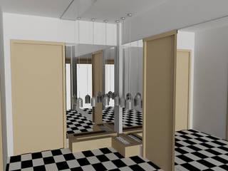 SERPİCİ's Mimarlık ve İç Mimarlık Architecture and INTERIOR DESIGN Kantor & Toko Modern Komposit Kayu-Plastik Wood effect