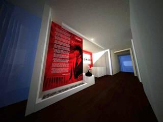 SERPİCİ's Mimarlık ve İç Mimarlık Architecture and INTERIOR DESIGN Negozi & Locali commerciali in stile rustico PVC Variopinto