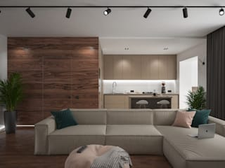 Modern Living Room by Scavioli Modern