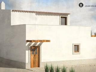 Villas de estilo  de ATELIER OPEN ® - Arquitetura e Engenharia, Rural