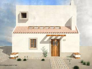 CASA DA CALDEIRA | Azóia, Sesimbra: Casas  por ATELIER OPEN ® - Arquitetura e Engenharia,Minimalista