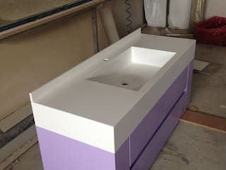 Akrilik mutfak ve banyo tezgahları tuzlakaanmobilya BanyoLavabolar