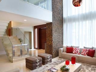 Remodelação | Moradia Cond. Santa Mônica Jardins Salas de estar modernas por LAF Construction Management Moderno