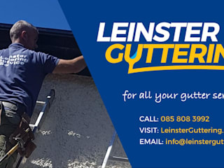 Gutter Repairs Dublin with Leinster Guttering の Leinster Guttering モダン