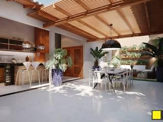 PROJETO PARA ÁREA DE LAZER por Amauri Berton Arquitetura Moderno