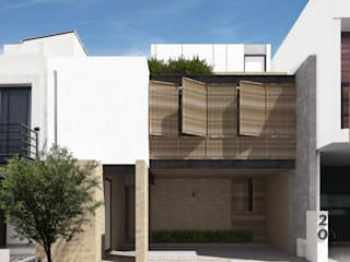 Modern Houses by Mouret Arquitectura Modern