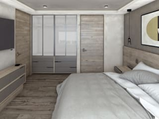 Modern Bedroom by Mouret Arquitectura Modern