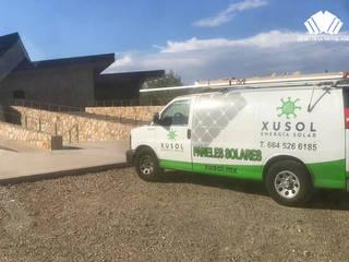 XUSOL Energía Solar Lean-to roof