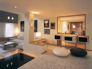 SERPİCİ's Mimarlık ve İç Mimarlık Architecture and INTERIOR DESIGN Living roomAccessories & decoration Komposit Kayu-Plastik Multicolored